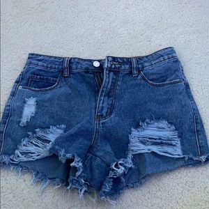 SHEIN Denim Shorts